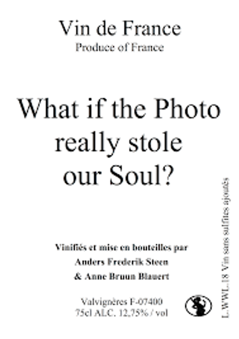 Anders F. Steen 'What if the Photo.... VdF Rouge