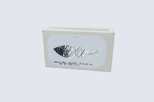 Jose Gourmet Small Smoked Mackerel in Olive Oil