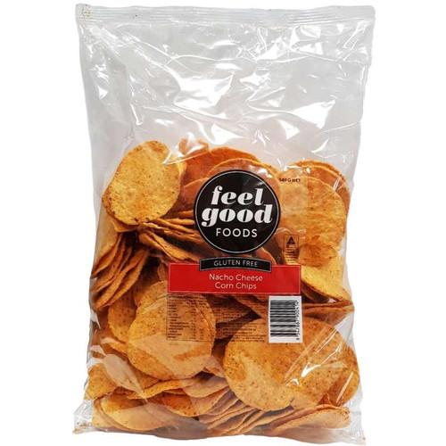 Corn Chips Organic Nacho Cheese