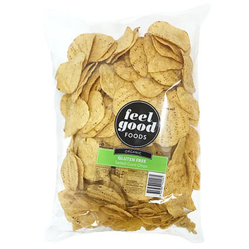 Corn Chips Organic Salted