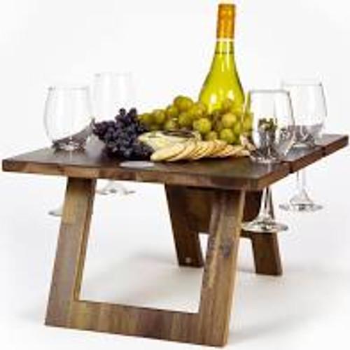 Indi Tribe Folding Table - 4 Glass Holder
