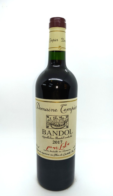 2017 Domaine Tempier Bandol Rouge