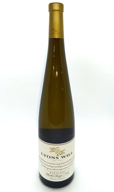 2018 Lyons Will Riesling