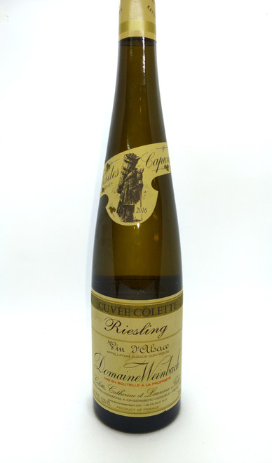 2016 Weinbach Cuvee Collette Riesling