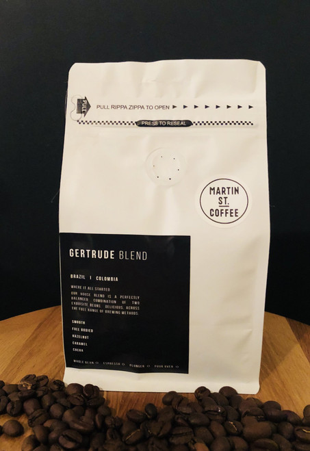 Martin St 500g Retail Coffee Beans Bag
