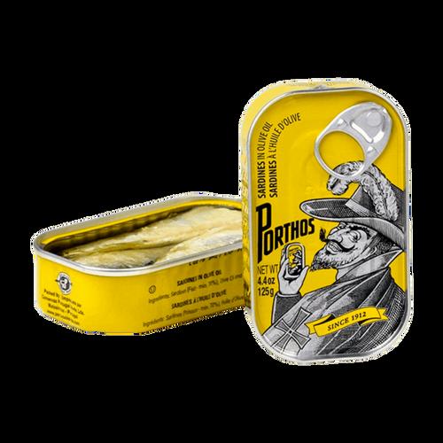 Porthos Sardines in Olive Oil