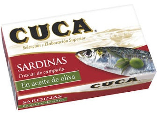 Cuca Sardines in Olive Oil