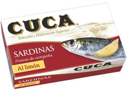 Cuca Sardines with Lemon