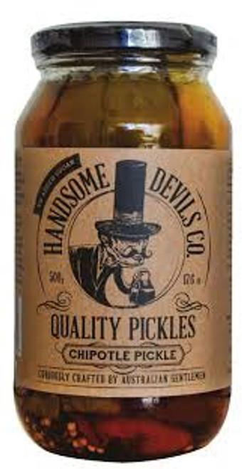 Handsome Devil Chipotle Pickles
