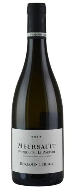 2014 Benjamin Leroux Premier Cru Porusots Chardonnay