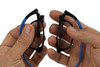 Clic Compact Reading Glasses in Black Frame with Black Headband Rx S.V.