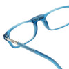 Clic Frosted Blue Jeans Reading Glasses