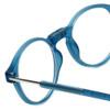 Clic Brooklyn Oval in Blue Jeans Progressive Eyeglasses