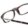 Clic Tortoise Long Reading Glasses with Blue Light Filter & A/R Lenses
