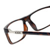 Clic Executive XL Tortoise Reading Glasses with Blue Light Filter & A/R Lenses