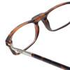 Clic Tortoise XXL Reading Glasses with Progressive Blue Light Filter Lenses