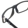 Clic Executive Matte Black Tube Reading Glasses with Progressive Blue Light Filter Lenses