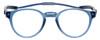 Clic Pantos Blue Jean Tube Reading Glasses with Progressive Blue Light Filter Lenses