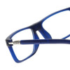 Clic Executive Frosted Blue Reading Glasses with Progressive Blue Light Filter