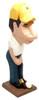 Golfer Male Peeper Eyeglass Holder Stand