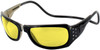 Clic Monarch Black Crystal Polarized Bi-Focal Reading Sunglasses