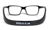Hoven Eyewear MONIX in Black :: Custom Left & Right Lens