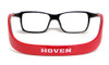 Hoven Eyewear MONIX in Black & Red :: Custom Left & Right Lens