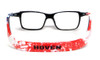 Hoven Eyewear MONIX in Black with American Flag Graphic :: Progressive