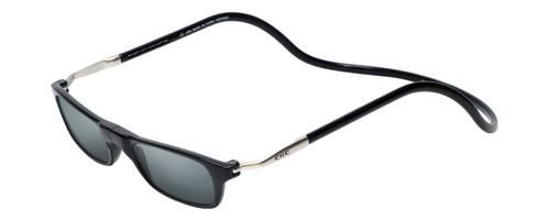 "Clic Black SunReading Glasses ""Long"""