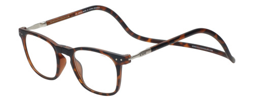 Clic Manhattan Oval in Tortoise Progressive Eyeglasses