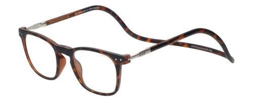 Clic Manhattan Oval Reading Glasses in Tortoise