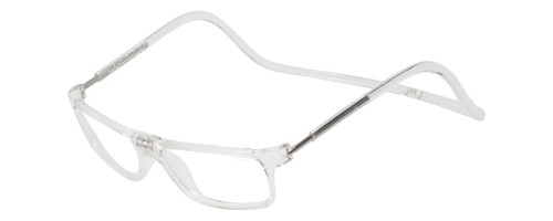 Clic Executive Clear Reading Glasses with Blue Light Filter & A/R Lenses