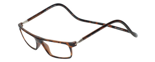 Clic Executive Tortoise Reading Glasses with Blue Light Filter & A/R Lenses