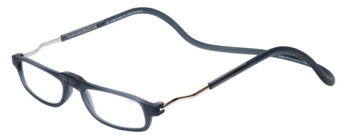 Clic XL Matte Grey Reading Glasses Rx S.V.