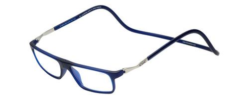Clic Executive XL Frosted Blue Progressive Glasses