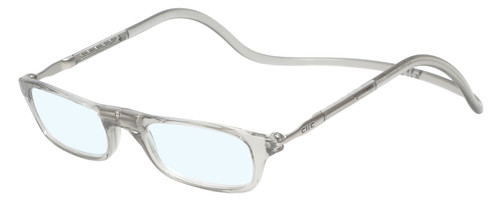 Clic Smoke Reading Glasses with Blue Light Filter & A/R Lenses