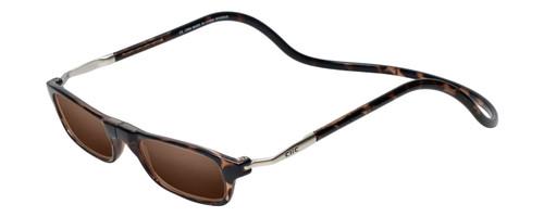 "Clic Tortoise SunReading Glasses ""Long"""