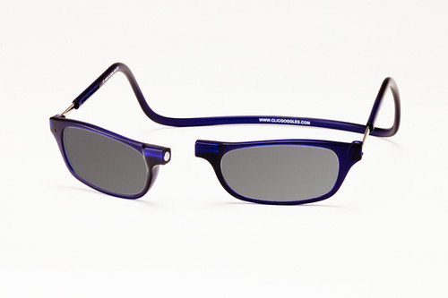 Clic Frosted Blue SunReading Glasses