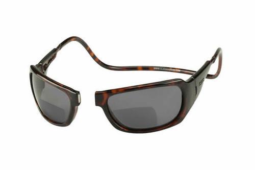 c14115d408dc0 Clic Monarch Tortoise Polarized Bi-Focal Reading Sunglasses - Clic ...