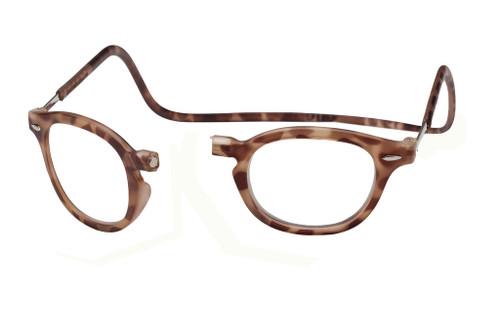 Clic Vintage Oval in Light Demi-Tortoise Custom