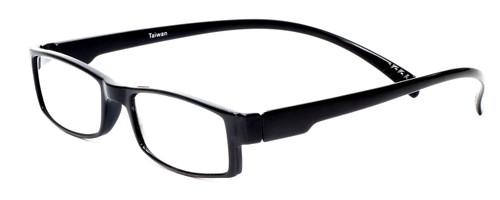 Neck Hanging Reading Glasses in Black Custom L & R