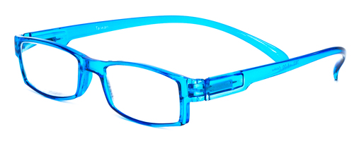 Neck Hanging Reading Glasses in Blue Custom L & R