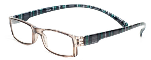 Neck Hanging Reading Glasses in Plaid Custom L & R