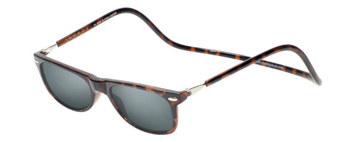 Clic Ashbury Sunglasses in Tortoise with Grey Lens