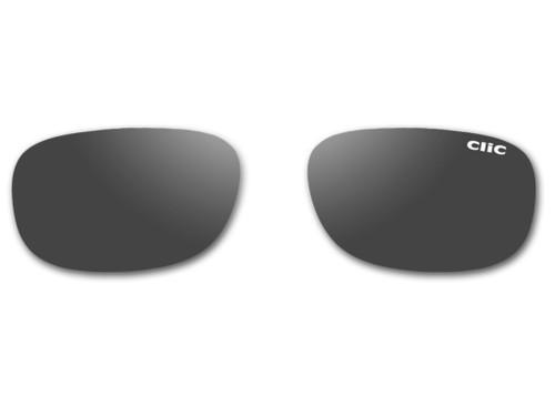 Clic Sunglass Monarch Replacement Lenses (Left & Right Lenses): Polarized Gray