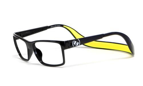 Hoven Eyewear MONIX in Black & Yellow :: Custom Left & Right Lens