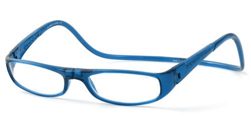 Clic Euro Blue Reading Glasses