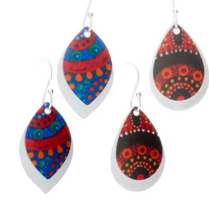 Earrings (Aluminium)