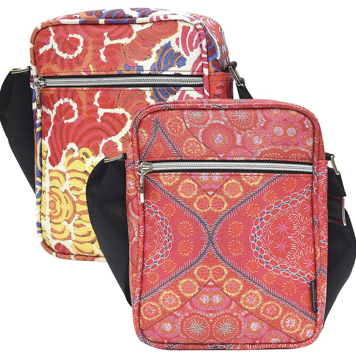 Great Size Bag that Features Aboriginal Designs