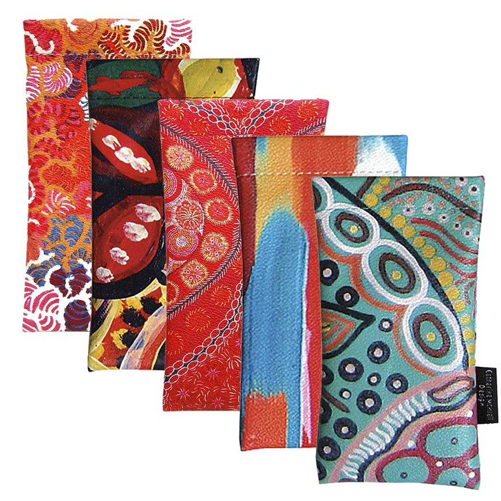 Glasses or Spectacles Cases that Showcase Indigenous Australian Designs
